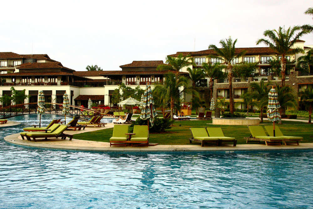 Spoil yourself at a luxury resort