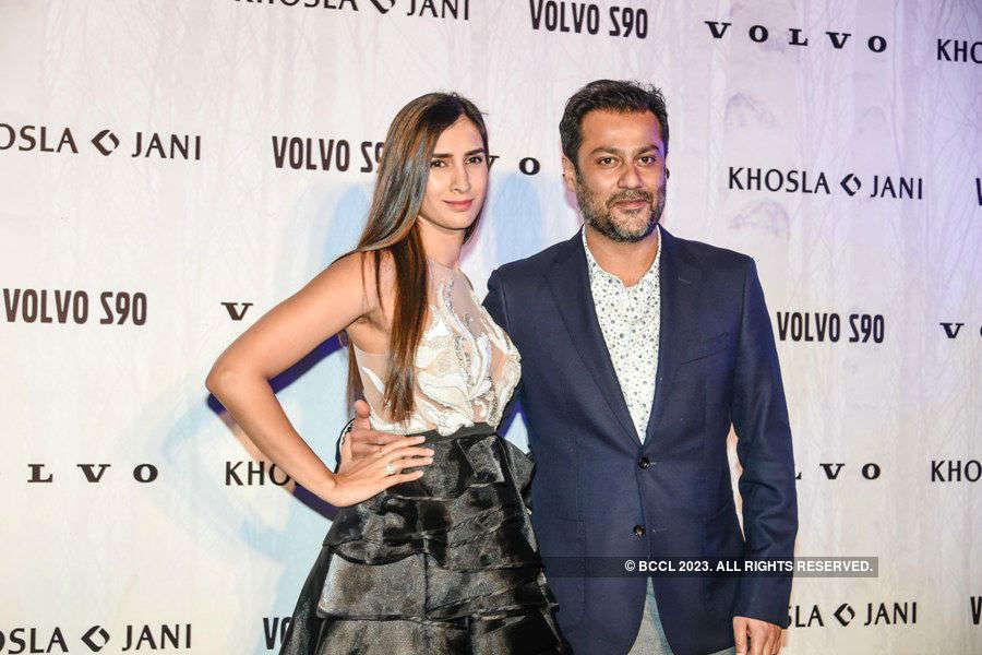 Abu Jani and Sandeep Khosla launch with Volvo S90