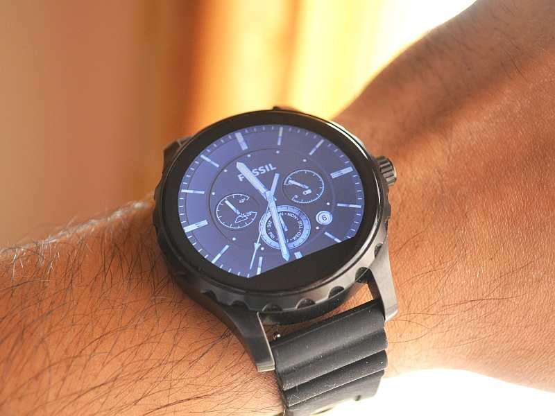 Compare Phones Side By Side >> Fossil Q Marshal Smartwatches - Price, Full Specifications & Features at Gadgets Now