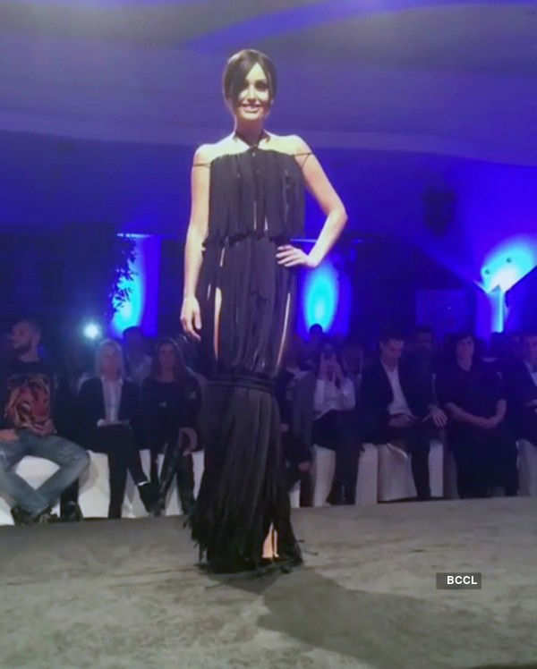 Cancer-stricken former beauty queen walks the ramp for a cause