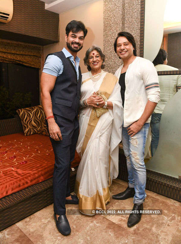 Kapil and Kaustubh Birthday Party