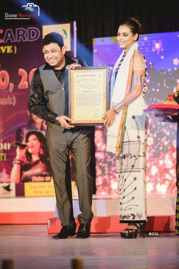 Priyadarshini Chatterjee felicitated by NEEDS Foundation