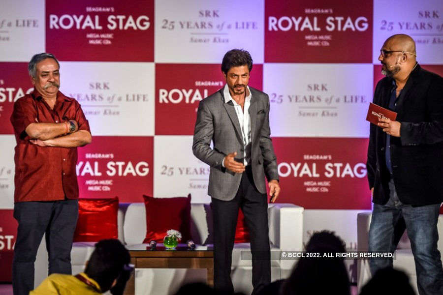 SRK 25 Years of a life: Book launch