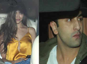 Deepika, Ranbir, Parineeti at Karan Johar's success bash