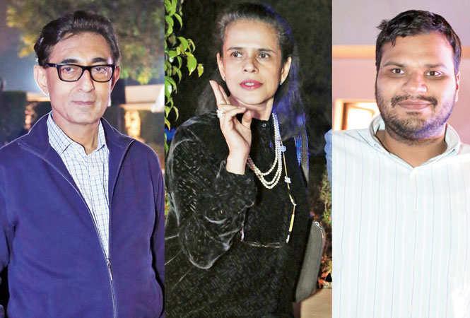 (L-R) Sunit Tandon, Geeti Bhagat and Anubhav R Nath (BCCL)