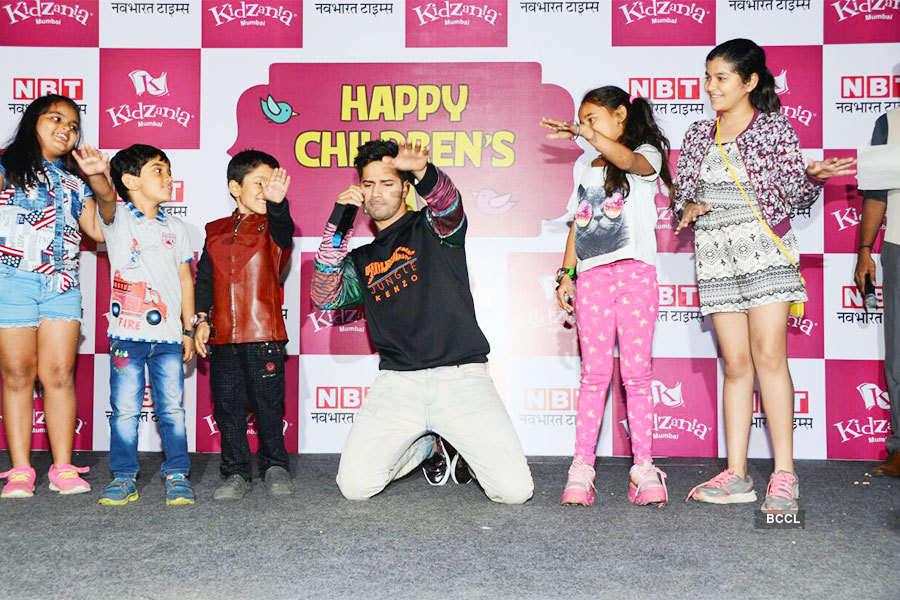 Varun Dhawan celebrates Children's Day