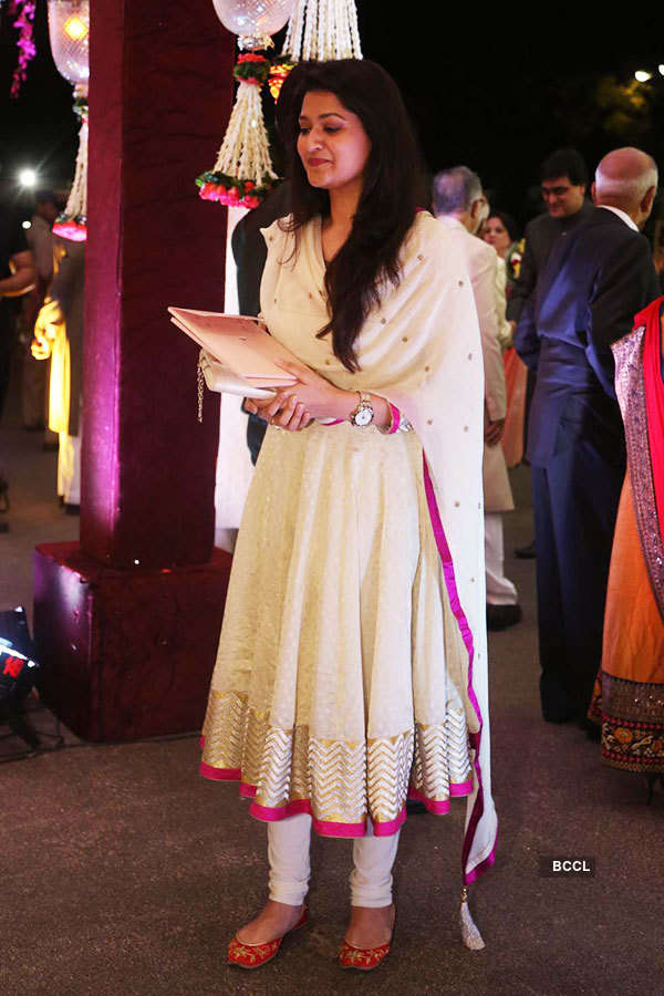 Sania Mirza's sister's wedding reception