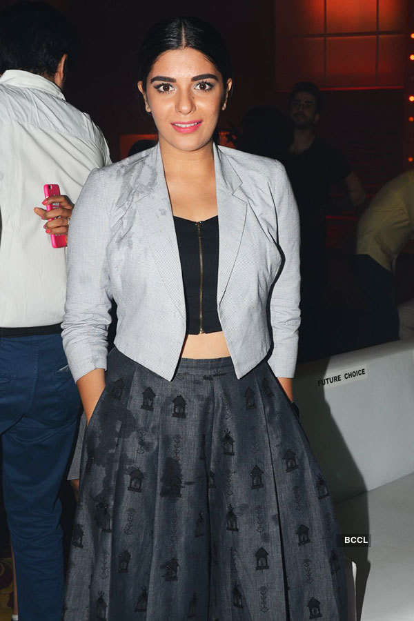 TV Celebs at a party
