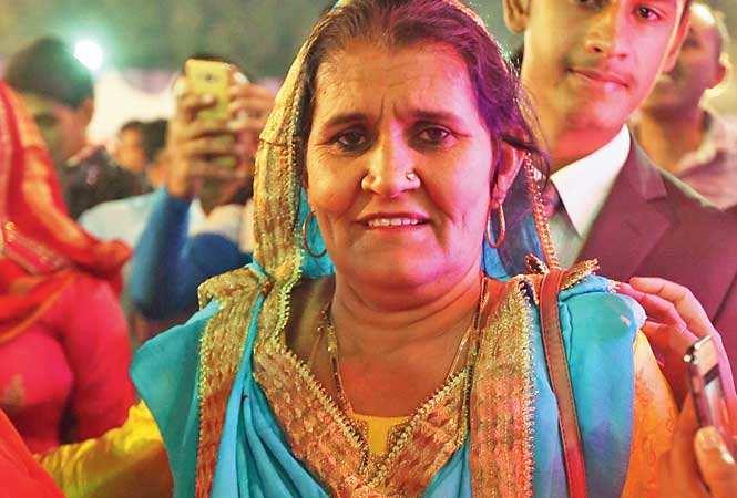 Daya Kaur, Geeta Phogat's mother (photo Ajay Gautam, BCCL)