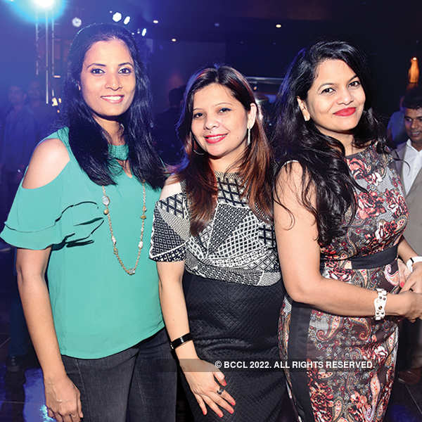 Lounge bar launch party