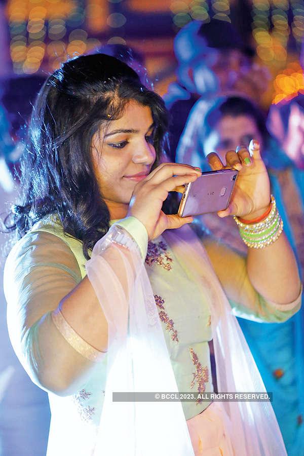 Geeta and Pawan's wedding ceremony