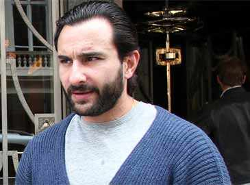 Saif begins shopping for his baby