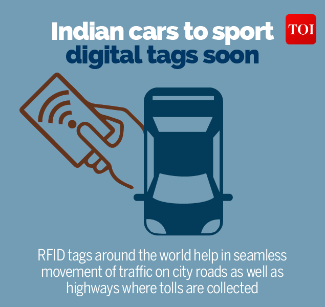 1Indian cars to sport digital tags soon-Infographic-TOI