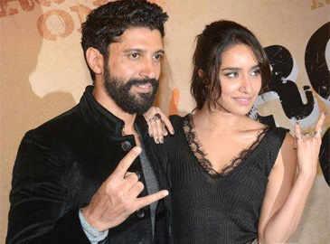 Farhan Akhtar, Shraddha Kapoor moving in together?
