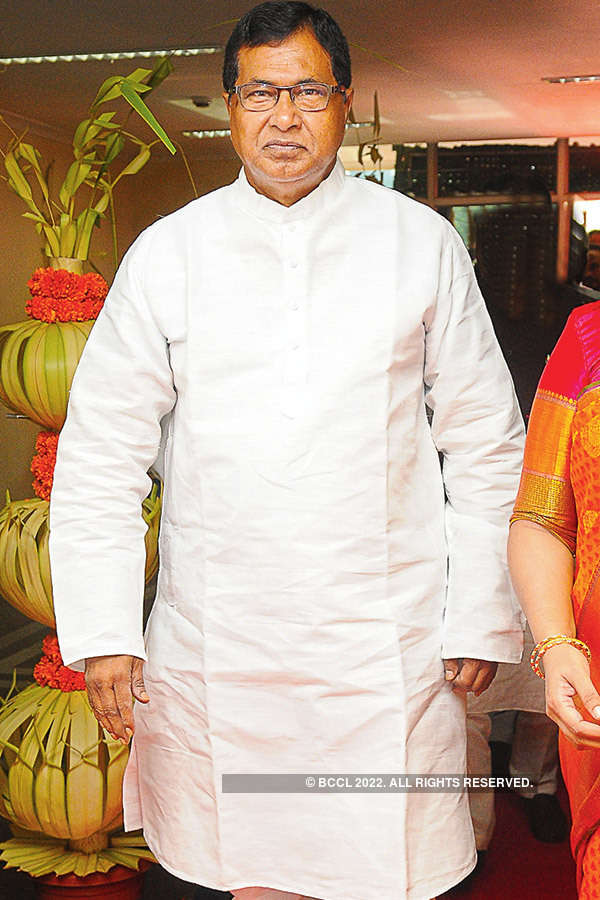 Vijaya Laxmi & Jignesh Reddy's wedding ceremony