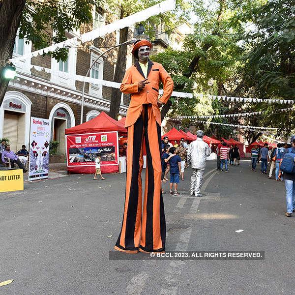 Mumbai's Ballard Estate Festival