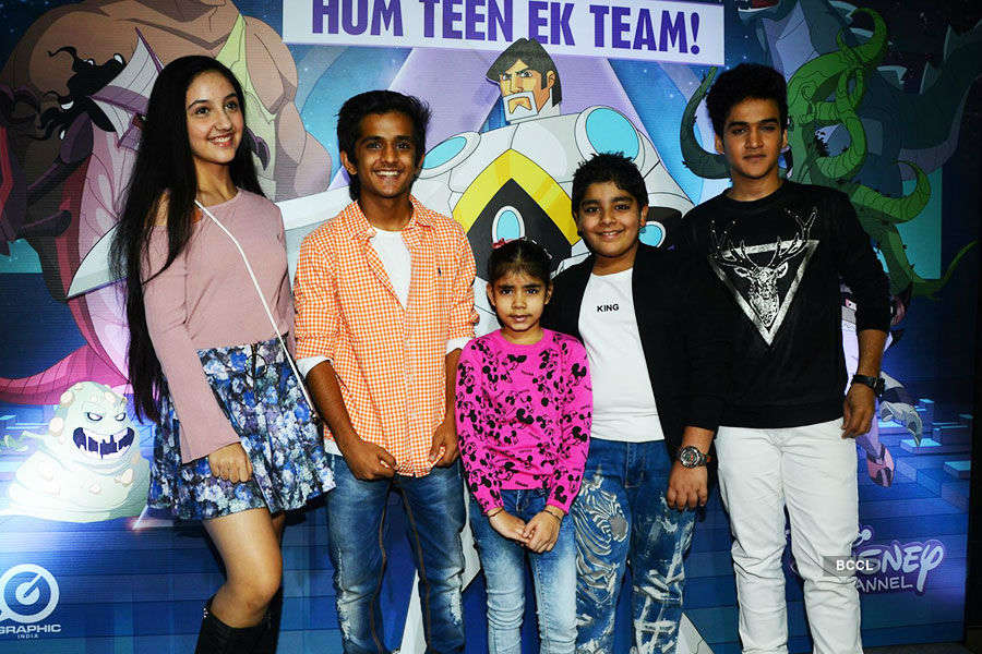 TV kids attend Astra Force screening