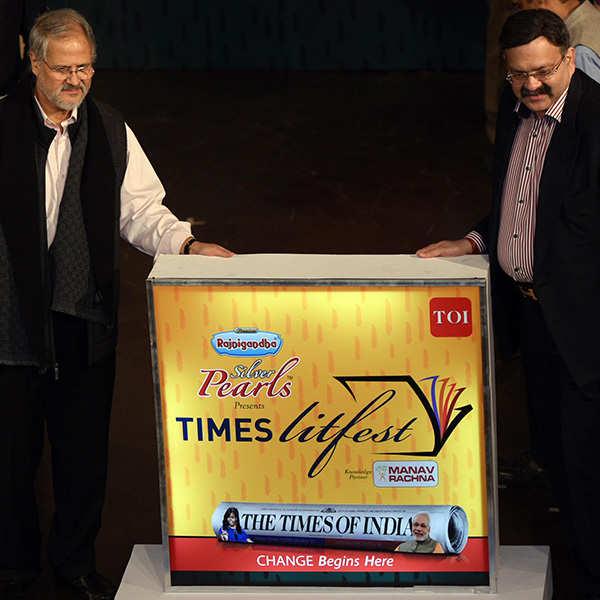 Times Lit Fest Delhi: Opening Ceremony