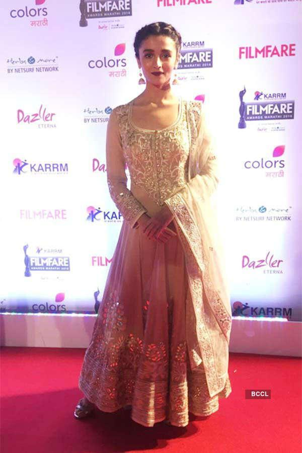 Karrm Filmfare Awards (Marathi): Red Carpet