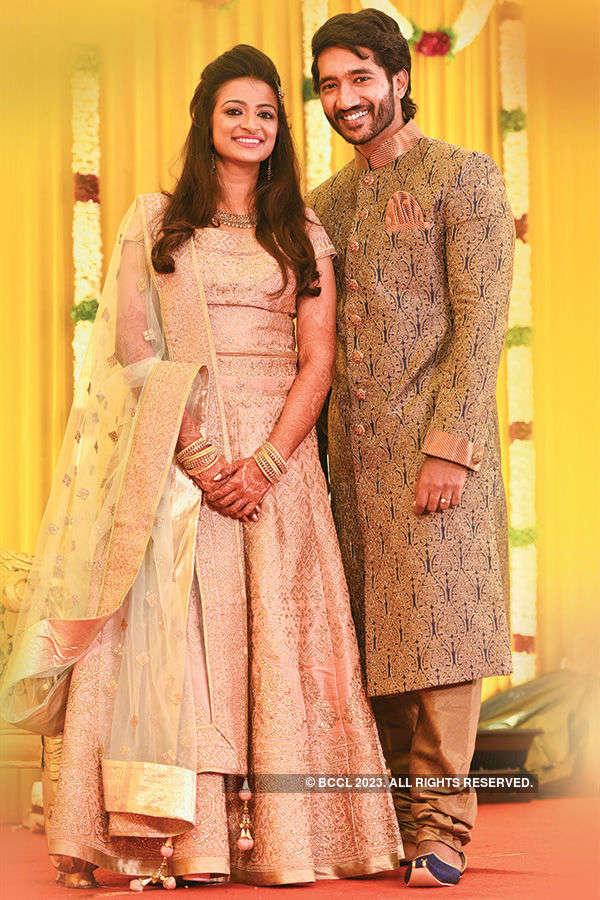 Spathika and Pintu's wedding reception
