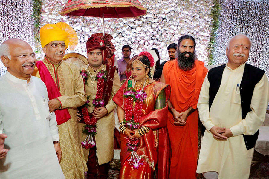 Nitin Gadkari's daughter's wedding