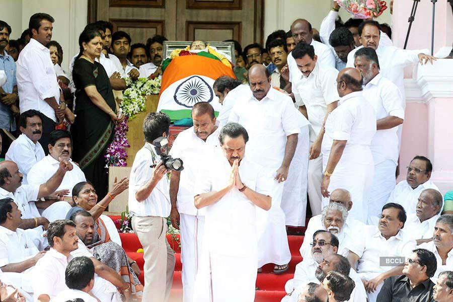 Celebs pay homage to J Jayalalithaa