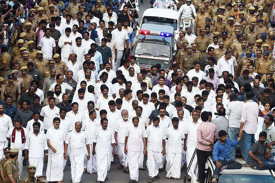 Jayalalithaa Funeral Photos