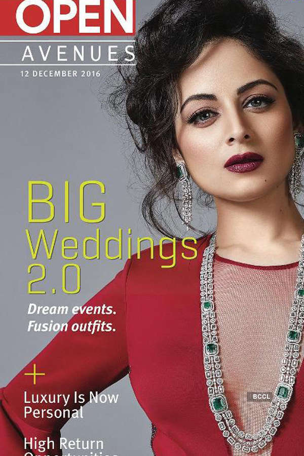 Zoya Afroz sparkles on the cover of Open Magazine