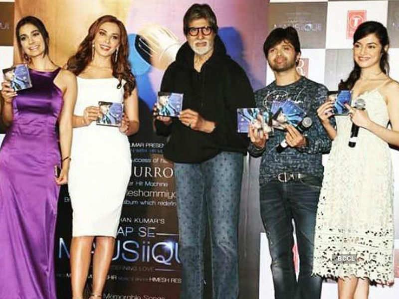 Amitabh Bachchan unveils Alankrita Sahai's new album