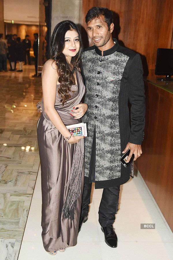 Yuvraj Singh & Hazel Keech's reception Photos