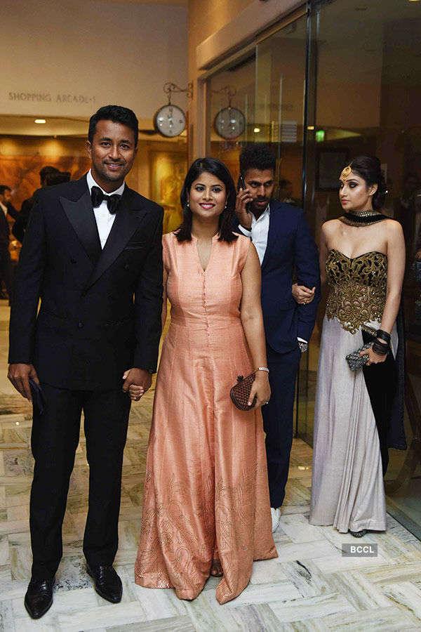 Yuvraj Singh & Hazel Keech's reception Photos
