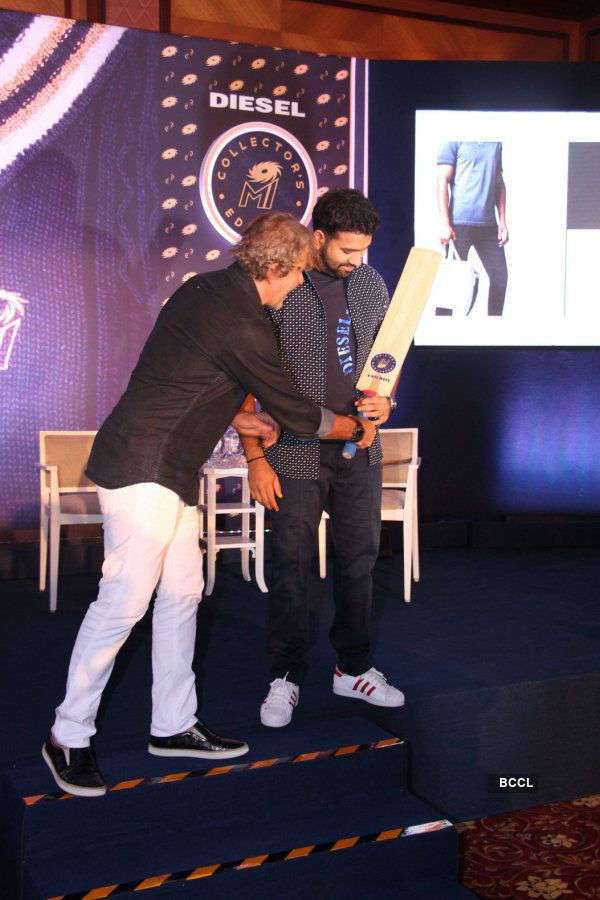 Mumbai Indians and Diesel launch exclusive apparel