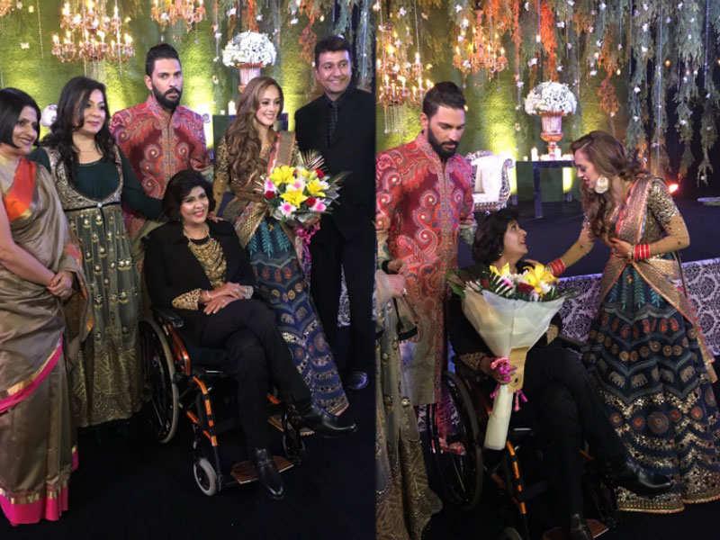 Yuvraj Singh-Hazel Keech's wedding: All the pics from the big day
