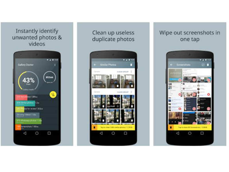 Deleting duplicates on your phone: Photo Cleaner | Gadgets Now