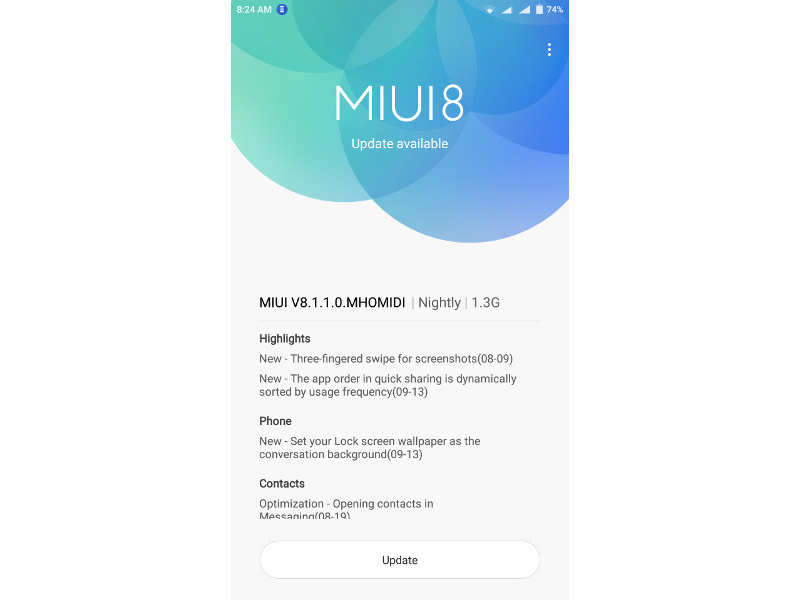Xiaomi: Xiaomi rolls out MIUI 8 1 1 0 based on Android 6 0