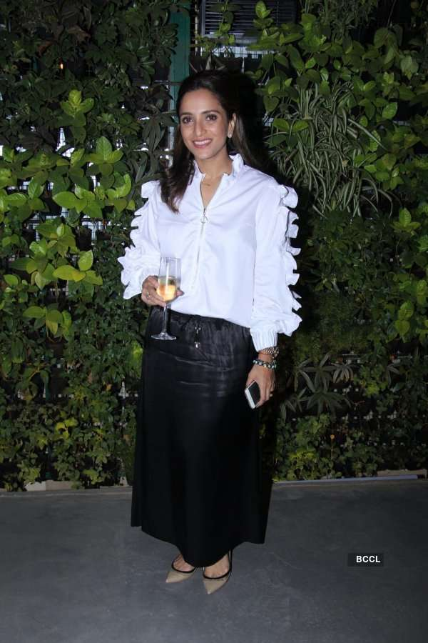 Anandita De's food blog launch