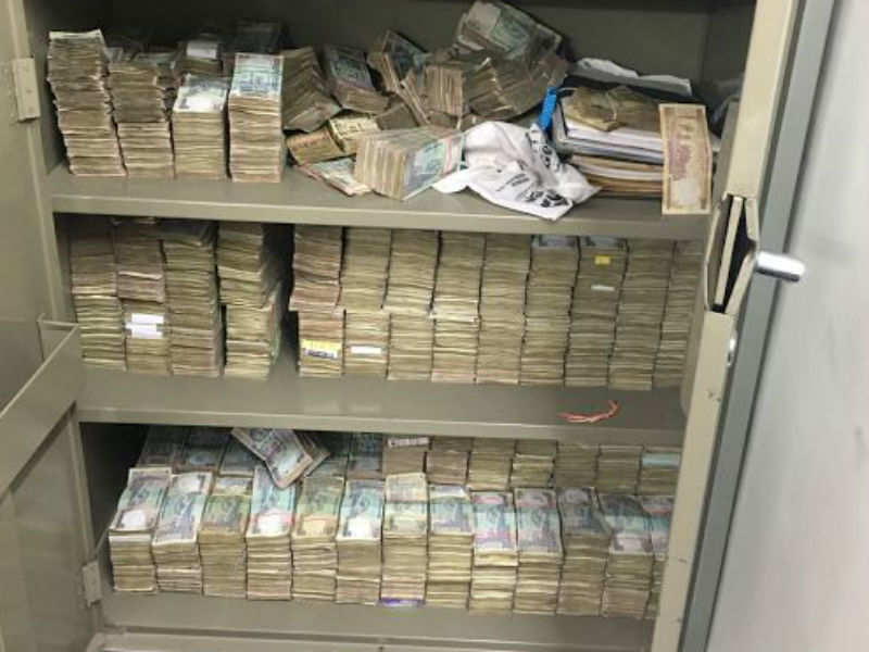 Over Rs 8 crore in cash seized in raids on a law firm in south Delhi