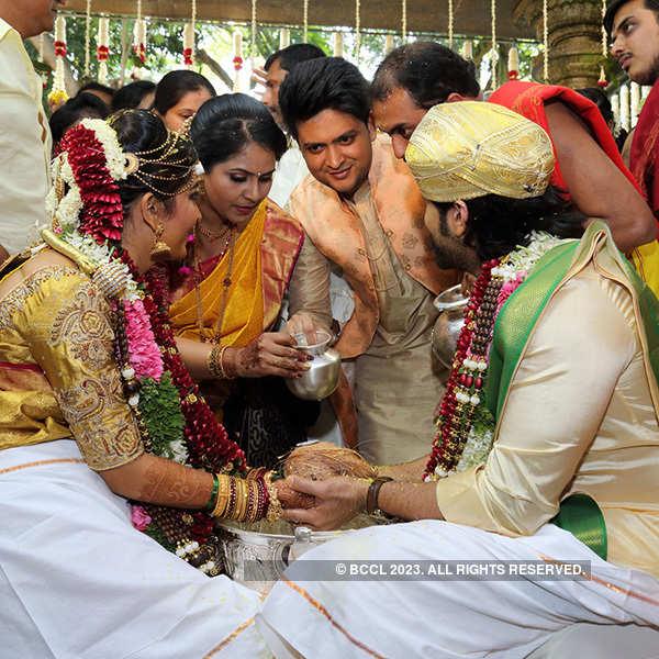 Yash and Radhika's wedding reception