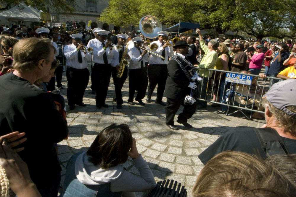 Louis Armstrong park and Congo Square