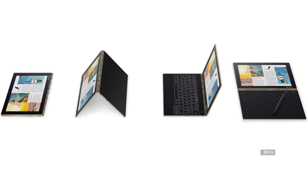 Lenovo launches Yoga Book