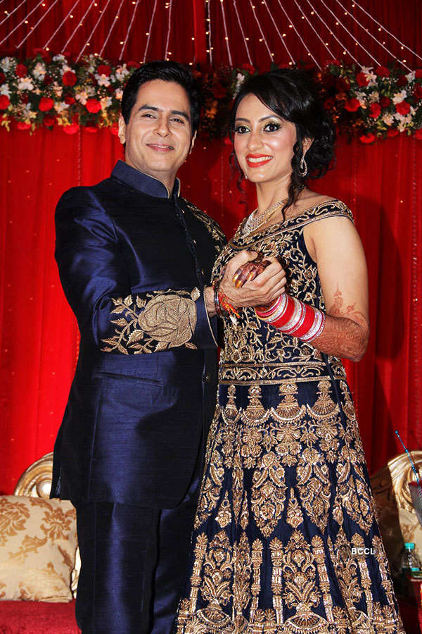 Aman Verma's wedding reception