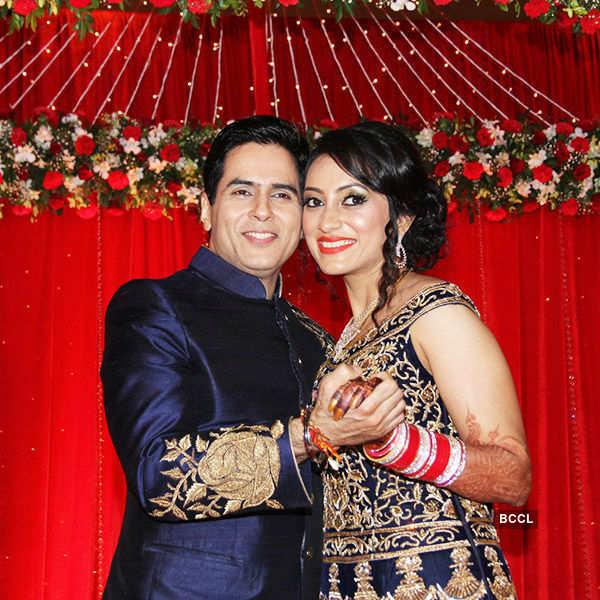 Aman Verma's wedding reception