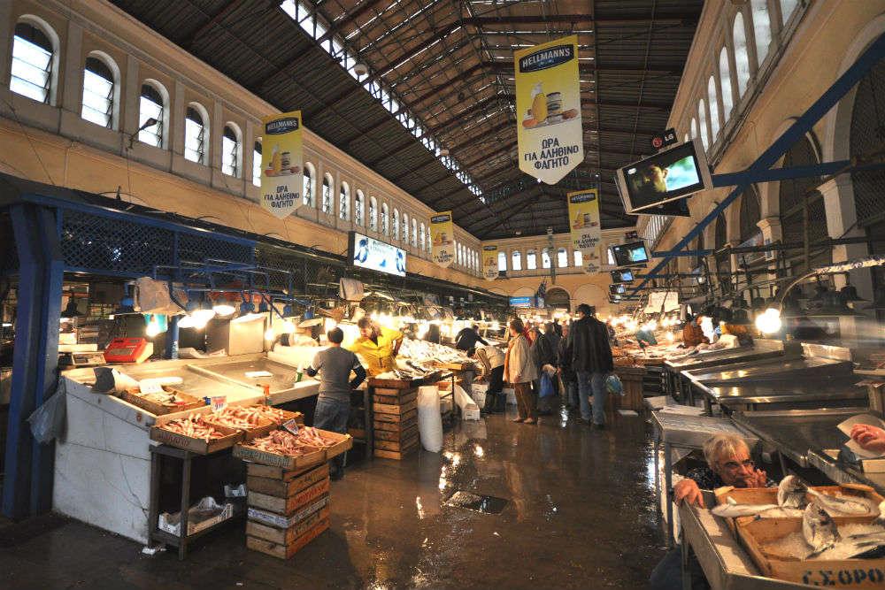 The Agora-Athens Central Market