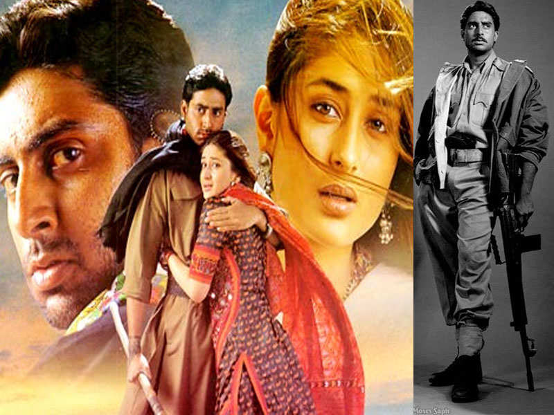 Abhishek Bachchan's throwback pic from 'Refugee' photo shoot
