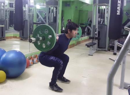 Perfect squatting technique