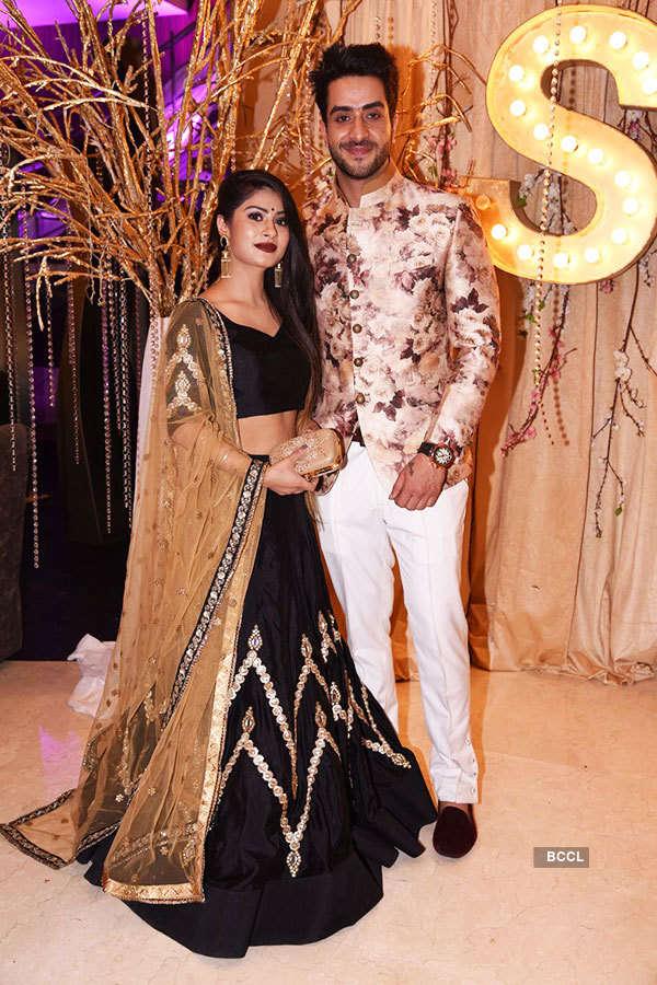 Kishwer, Suyyash's wedding reception