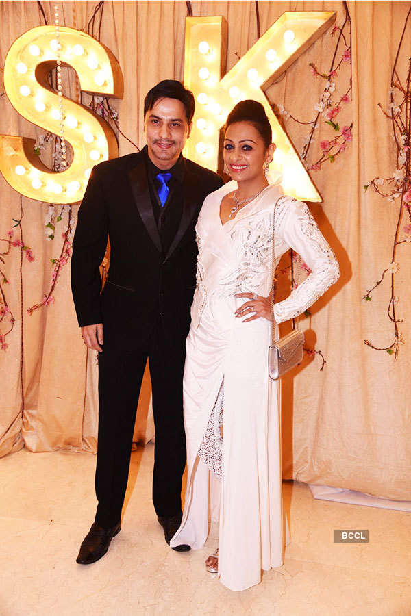 Kishwer, Suyyash's wedding reception