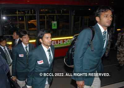 Pak hockey team in Delhi