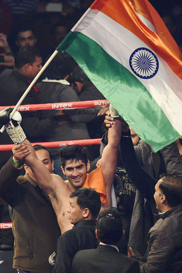 Vijender retains WBO Asia Pacific Super Middleweight title