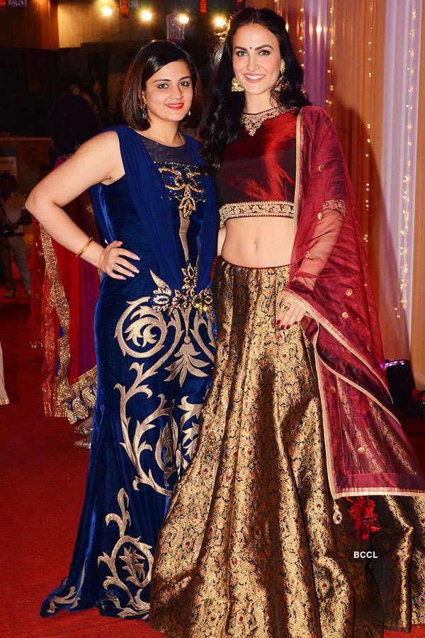 Celebs at photographer Munna S' wedding reception